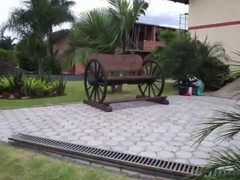 Art 39 s r sticos m veis youtube for Bancos de jardin rusticos