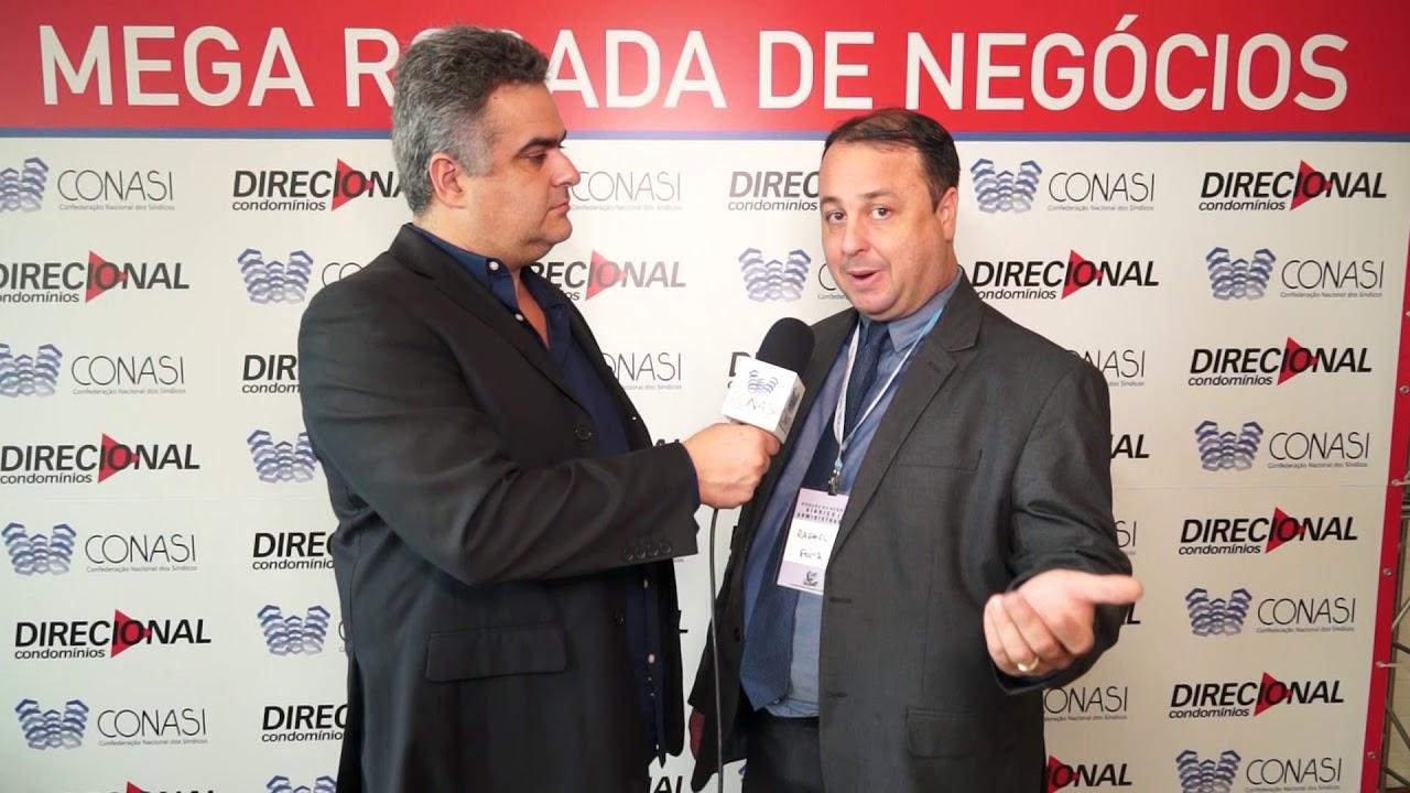 Dicas de Rafael Junqueira - Administrador de Condomínios   durante a Rodada Negócios