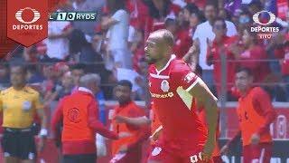 Gol de William da Silva | Toluca 1 -0 Monterrey | Clausura 2019 - Jornada 13 | Televisa Deportes