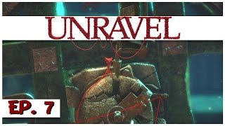 Unravel - Ep. 7 - Off the Rails! - Let's Play Unravel Gameplay