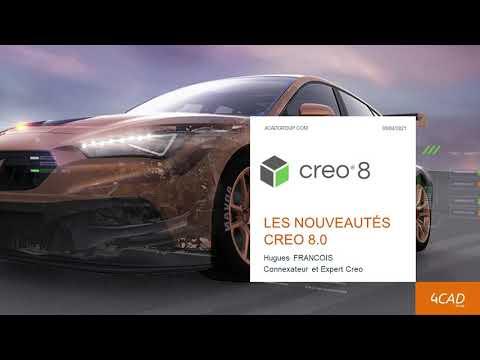 Nouvelle version Creo 8, découvrez les nouveautés !