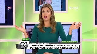 La nueva disputa de Roxana Muñoz contra Kike Acuña que denunció en sus redes sociales