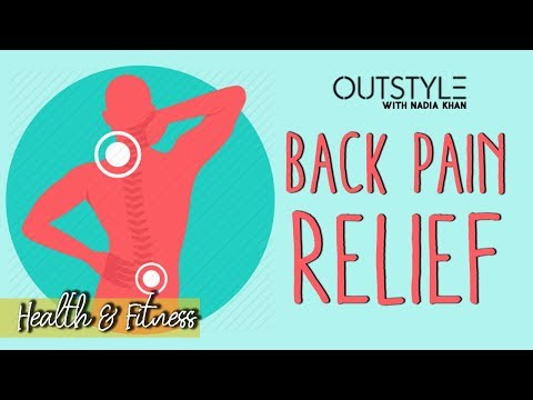 Nadia Khan Backache Relief Secret Revealed | Exercise For Back Pain | OutStyle.com