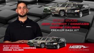Metra JEEP Patrioit / Compass & DODGE Caliber dash kit 95-6534B
