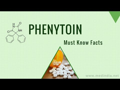 Phenytoin (Dilantin): Anticonvulsant Drug For Tonic-clonic Or Partial Seizures In Epilepsy Patients