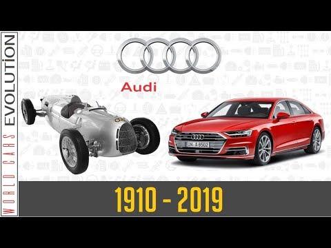 W.C.E - Audi Evolution (1910 - 2019)