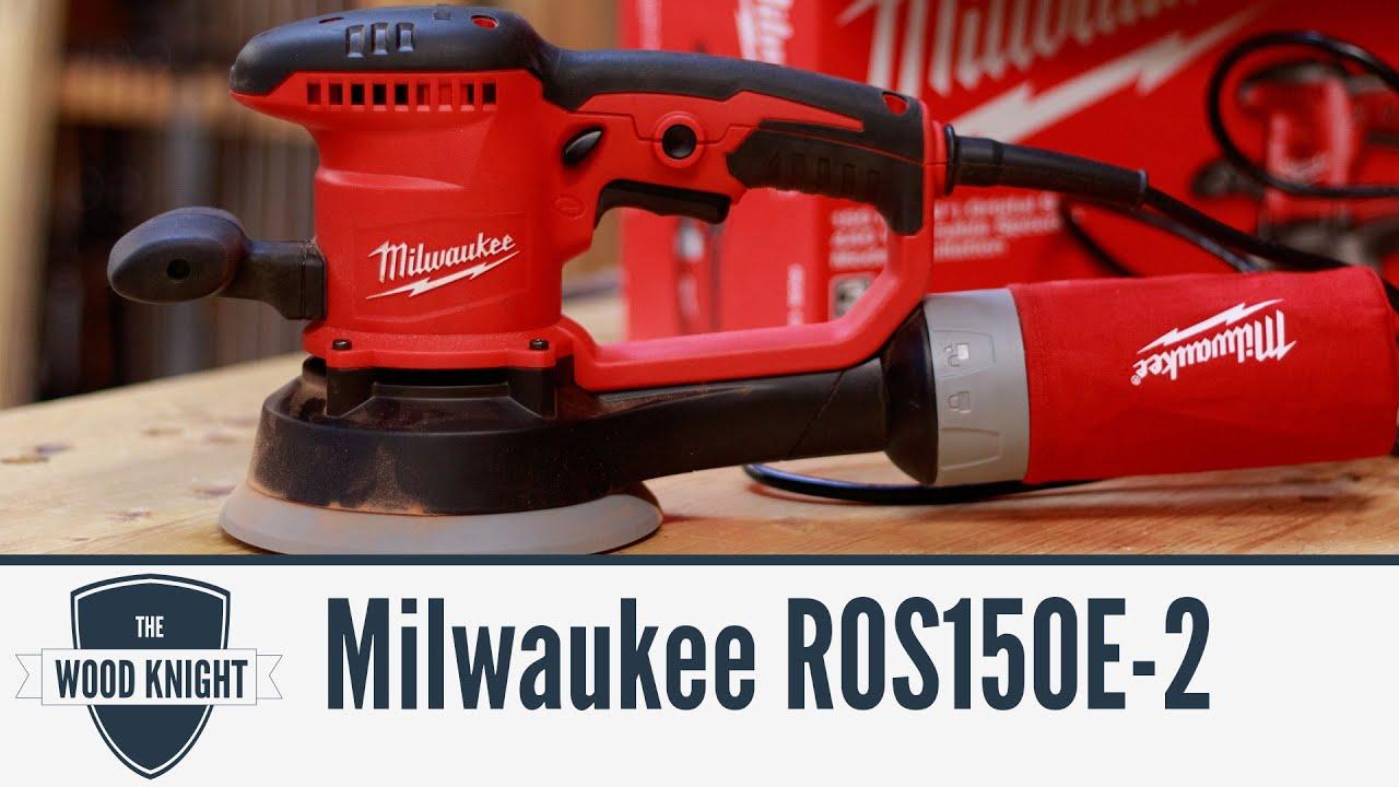 Milwaukee ROS150E 240v 6in//150mm Random Orbit Sander