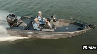 Ranger Aluminum VS1782DC On Water Footage