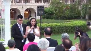 20151003台北園外園展鋐和怡君結婚典禮證婚儀式篇(一)