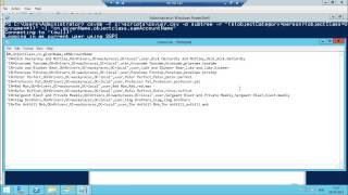 How to export and import users in Active Directory on a Windows Server 2012r2 using csvde