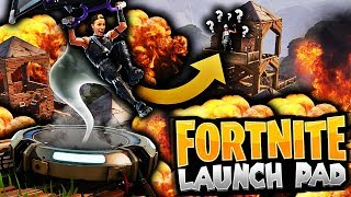 AVSLUTTER GAMET MED EN LAUNCH PAD ELIMINATION?! 💥🌂 EPISK VICTORY ROYALE PÅ FORTNITE!!