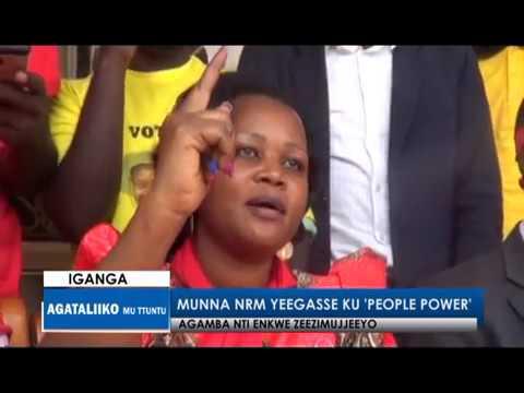 Munna NRM yegasse ku people power
