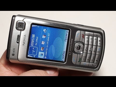 Nokia N70 Ретро телефон из Германии. Крутая капсула времени из Германии