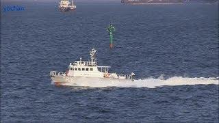 Patrol boat of Japan Coast Guard.JCG Suzukaze-class,HAMAKAZE (CL 50)  鑑識業務指定船「はまかぜ」