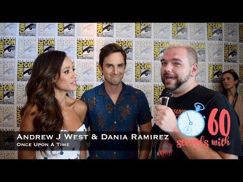 60 Seconds with Andrew J West & Dania Ramirez