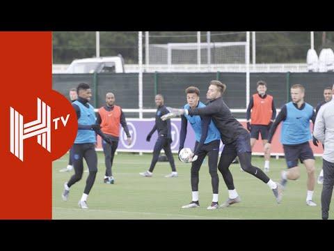 England prepare for UEFA Nations League semi-final