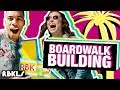 LEGO Boardwalk Building Challenge! 🌊 - REBRICKULOUS