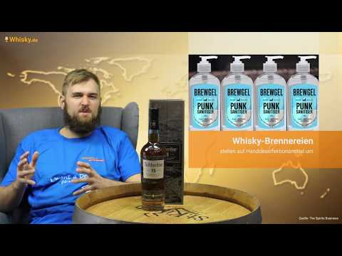 Whisky.de News: Brennereien Stellen Auf Desinfektionsmittel Um
