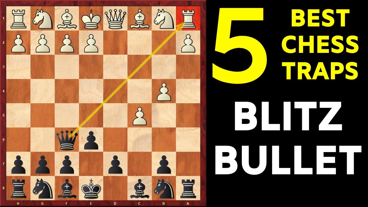 Download 5 Best Chess Opening Traps for BLITZ and BULLET   Part-2