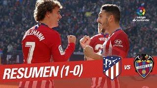 Resumen de Atlético de Madrid vs Levante UD (1-0)
