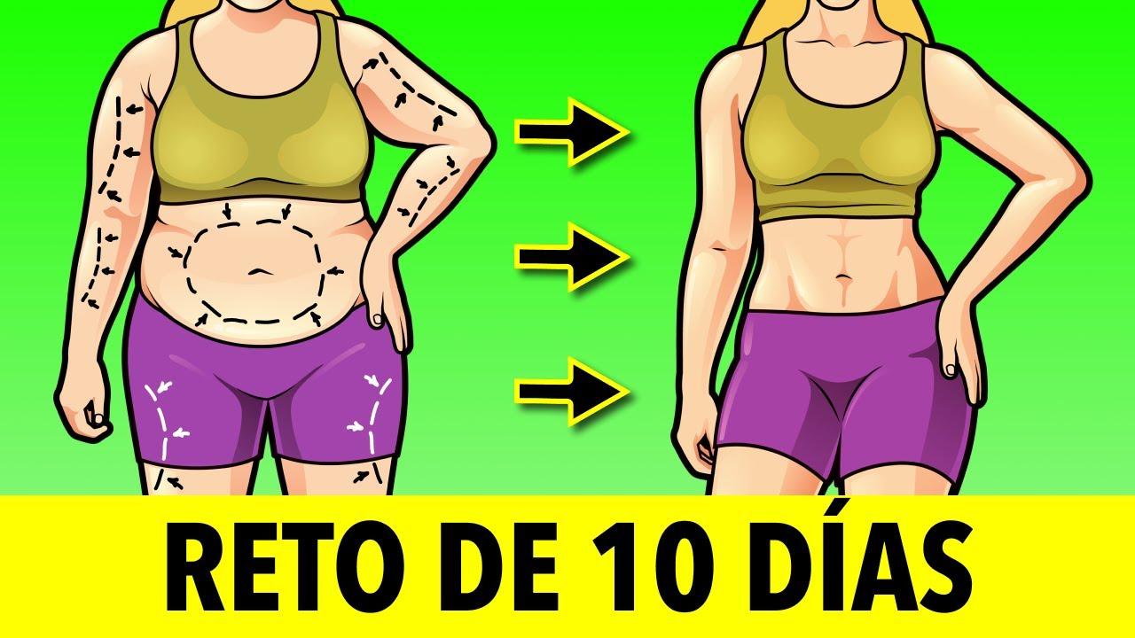 RETO DE 10 DÍAS PARA PERDER PESO