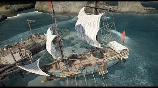 BDO(KR) - Crafting of the 2nd personal ship - (Creación del 2do  barco  personal) - EPHERIA FRIGATE by MoniChan TV