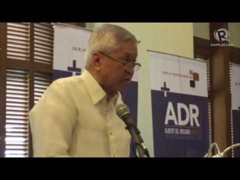 FULL SPEECH: Former DFA Secretary del Rosario at Hague ruling anniversary