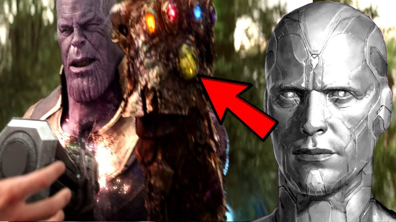 Avengers 4 Vision Mind Stone Cursed Thanos Revealed Thanos Will Fear Using The Infinity Gauntlet