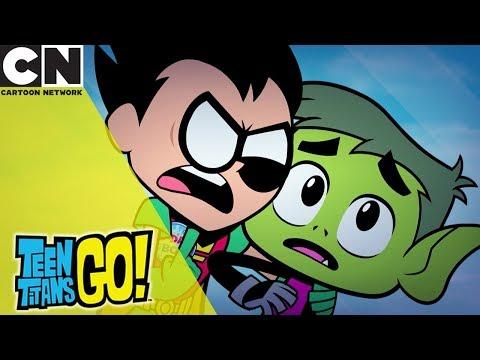 Teen Titans Go! | Robin Or Beast Boy Bday | Cartoon Network UK 🇬🇧