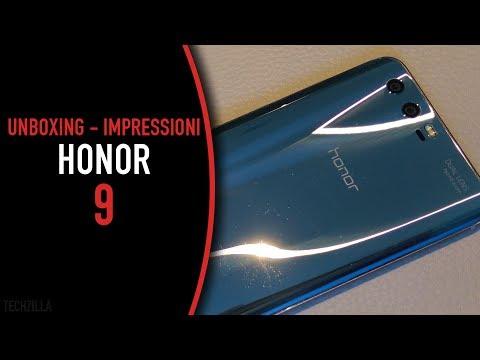 UNBOXING e PRIME impressioni Honor 9