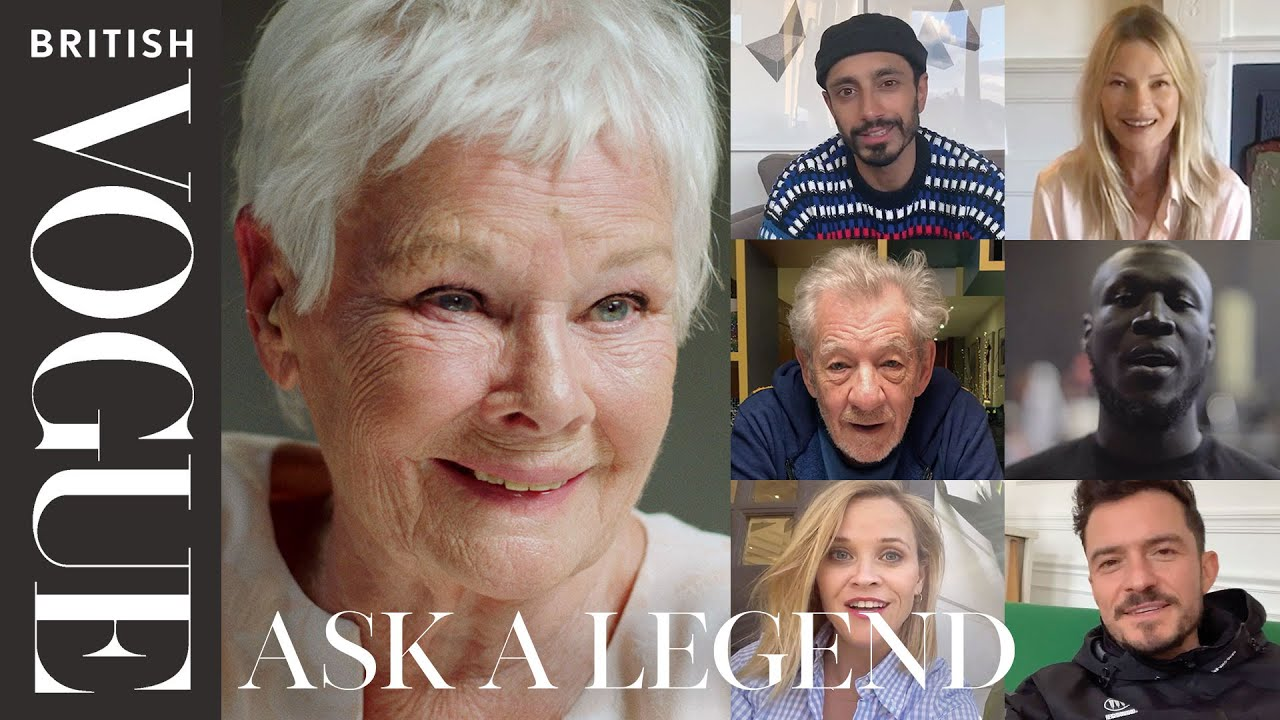 Judi Dench Answers Questions From 18 Of Her Most Famous Fans | British Vogue