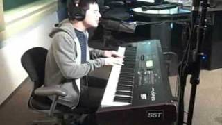 David Archuleta singing A Little Too Not Over You on Radio Disney