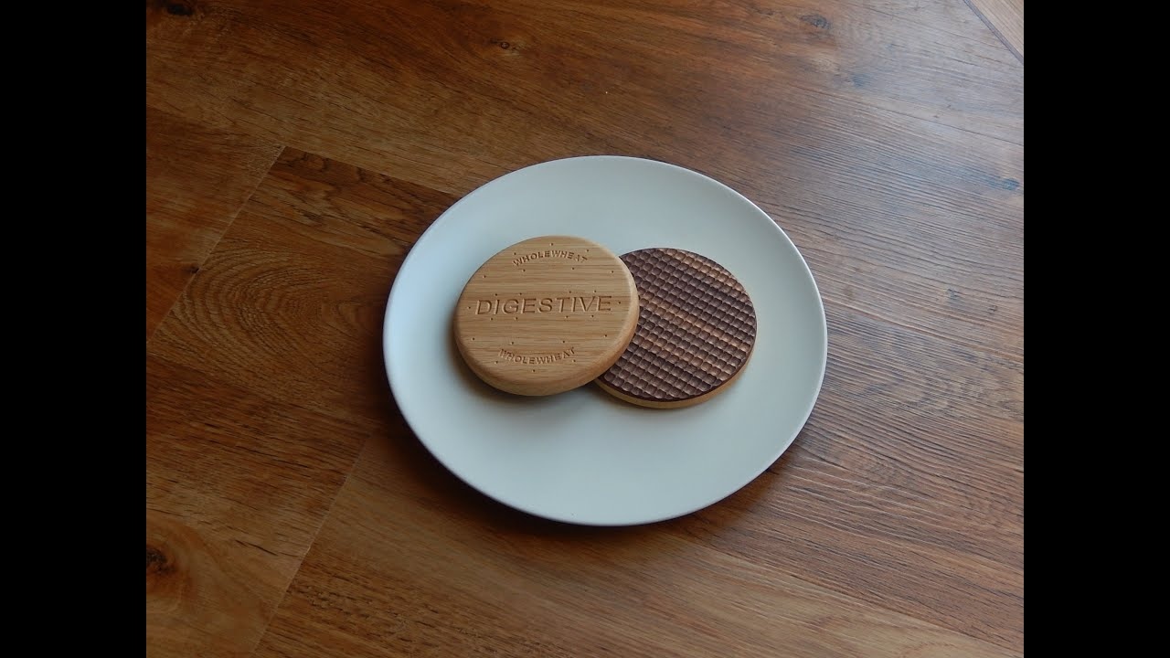 Making a Chocolate Digestive Biscuit - From Oak and Walnut ...
