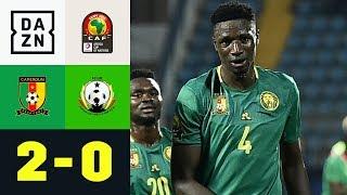 Banana Yaya-Kopfball und Slapstick-Tor: Kamerun - Guinea-Bissau 2:0 | Afrika-Cup | Highlights | DAZN