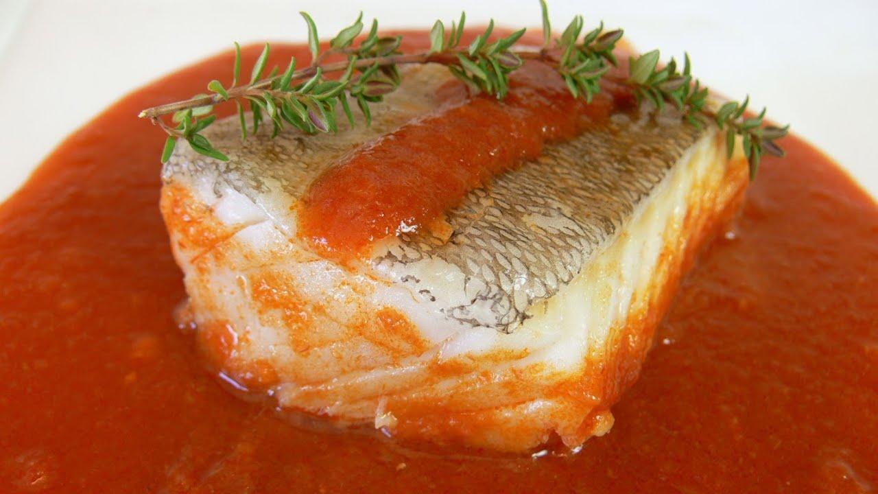 Cocinar para los amigos bacalao a la vizcaina youtube for Cocinar merluza a la vasca
