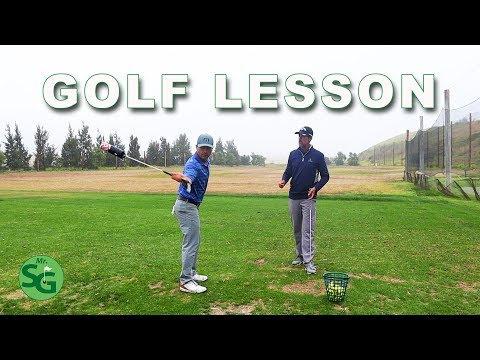 What I Learned about my Golf Swing in My Golf Lesson!