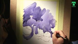 Twock#15. Уроки рисования: Акварель натюрморт 10+