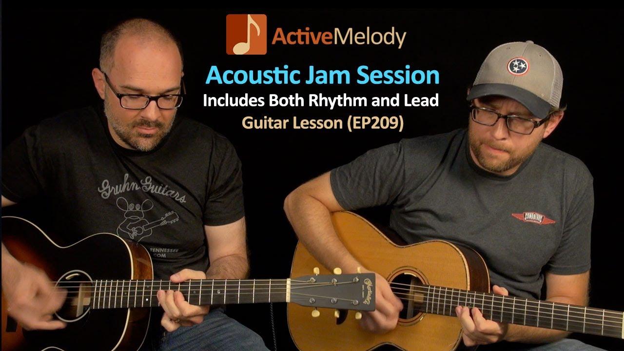 How To Jam On Guitar : acoustic jam session with a buddy how to jam on guitar blues guitar lesson ep209 youtube ~ Vivirlamusica.com Haus und Dekorationen