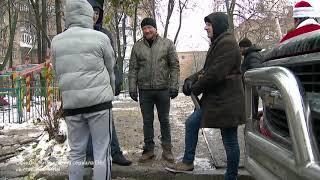 """Съёмки новогоднего сериала """"Пес"""""""