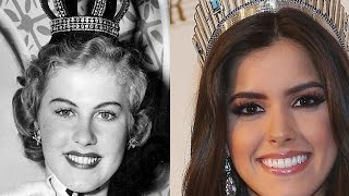 Miss Universe Photos 1952 To 2014
