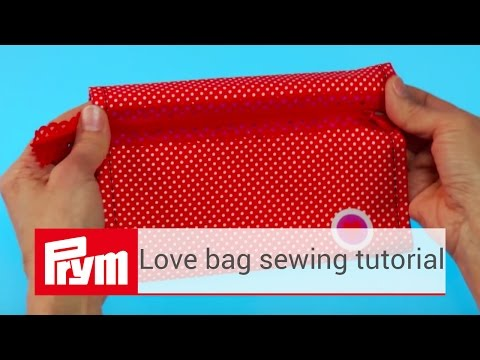 Sew your own bag with Prym love sewing material | Prym bags