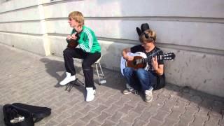 НОВОСИБИРСК 2011. Домбра и гитара