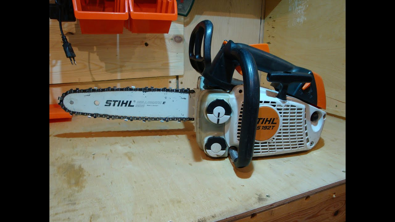 stihl ms 192 t youtube. Black Bedroom Furniture Sets. Home Design Ideas