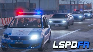 GTA V | MOD POLICIA | ESCOLTANDO O GOVERNADOR DO ESTADO DE SAN ANDREAS : PMBA | #128