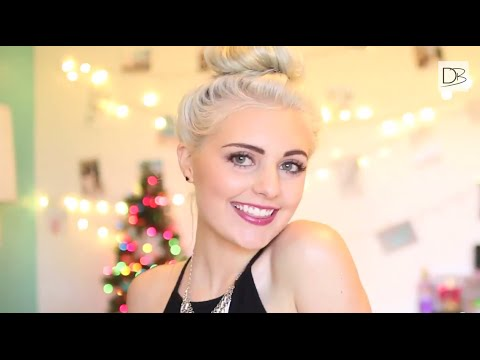Holiday Party Hair And Makeup + Giveaway With Aspyn | Destination Beauty - YouTube