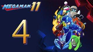 Mega Man 11 Kicks DSP's BUTT! The Playthrough pt4 - Easiest Boss? Then the HARDEST!