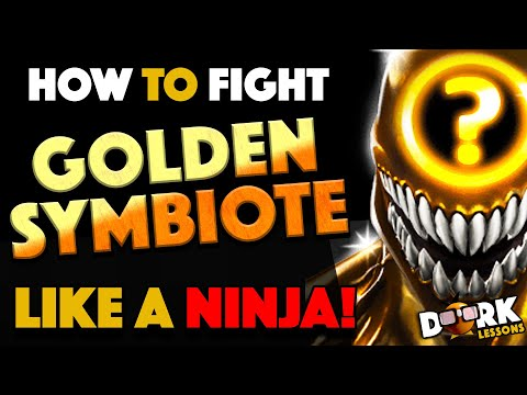 How To Fight Golden Symbiote Like A Ninja!