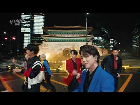 BTS Performs 'Butter'   Global Citizen Live