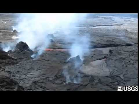 Latest video from the USGS Hawaiian Volcano Observatory