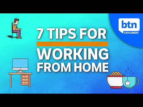 Working From Home During COVID-19: How to set-up a home office